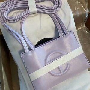 Telfar Small Light Purple Shopping Bag